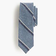 J.Crew - English silk tweed tie in seascape dot