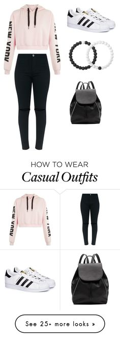 """Casual"" by good-vibez11 on Polyvore featuring adidas, Lokai and Witchery"