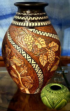 Foxlo Pottery | Amphora Gallery | Cambria,  California | #FOXLO | #cambria