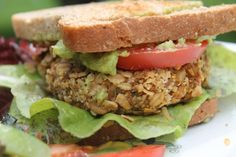 Granola Crusted Sweet Potato Burgers | The Lazy Vegan Baker