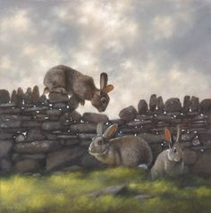 made by: Jimmy Lawlor , 'These Walls Have Ears' - Acrylic painting