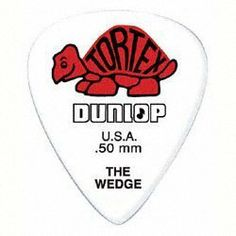 Dunlop Tortex Wedge Players Pack / 12 Picks (Red/.50) by Jim Dunlop. $8.42