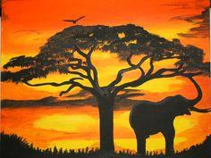 """African Sunrise"" by Varonda Sanders"