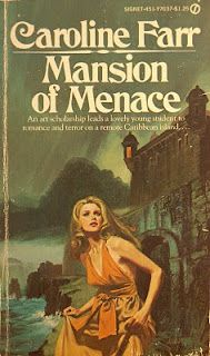 Mansion of Menace by Caroline Farr