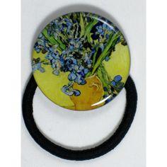 "Coletero arte Vincent Van Gogh ""Jarrón con lirios ... Vincent Van Gogh, Plates, Tableware, Irises, Vases, Art, Licence Plates, Dishes, Dinnerware"