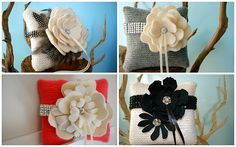 Nina Renee Designs: {A Fabulous Find} Gorgeous Ring Bearer Pillows