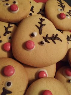 Food Decoration, Xmas, Christmas, Food To Make, Biscuits, Cupcakes, Sweets, Sugar, Cookies