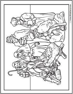 church scene coloring pages - photo#27