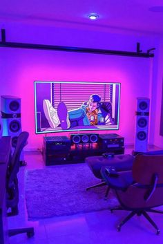 Small Gaming Room Ideas Game Room Ideas For Small Rooms Gaming Room Setup 2018 .Small Gaming Room Ideas Game Room Ideas For Small Rooms Gaming Room Setup 2018 Small Gaming Bedroom Ideas Best 40 Perfect Computer Gaming Room, Gaming Room Setup, Gaming Rooms, Laptop Gaming Setup, Gamer Setup, Computer Setup, Bedroom Setup, Room Ideas Bedroom, Neon Room
