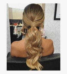 Fetching Hairstyles for Straight Hair to Sport This Season Wavy Ponytail ., 35 Fetching Hairstyles for Straight Hair to Sport This Season Wavy Ponytail ., 35 Fetching Hairstyles for Straight Hair to Sport This Season Wavy Ponytail . Messy Ponytail Hairstyles, Formal Hairstyles For Long Hair, Wavy Ponytail, Long Ponytails, Diy Hairstyles, Wedding Hairstyles, Hairstyle Ideas, Bridesmaid Hair Ponytail, Prom Updo