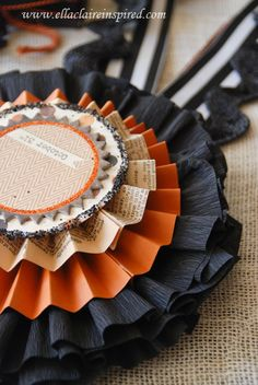 {Ella Claire}: DIY Halloween Decor....don't know what I would use this for, but I like it