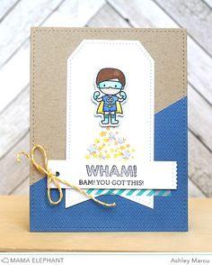 mama elephant | design blog: STAMP HIGHLIGHT : TINY HEROES