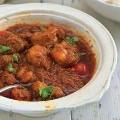 Prawn Patio - Sweet and sour prawns that are best eaten with malai paranthas