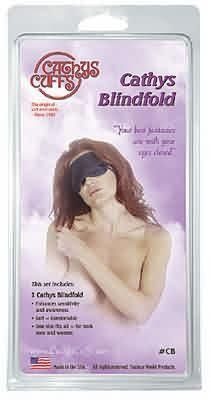 Introducing Cathys Blindfold Black. Get Your Ladies Products Here and follow us for more updates!