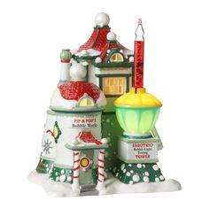 Department 56 - North Pole Village - Pip & Pop's Bubble Works | Department 56 Villages, Free Shipping on Dept 56