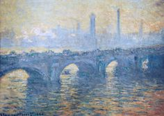"monet claude waterloo bridge gray weather 1900 (from <a href=""http://www.oldpainters.org/picture.php?/30734/category/13287""></a>)"