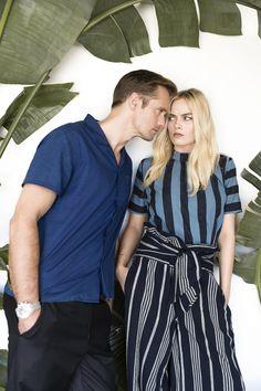 Alexander Skarsgård and Margot Robbie