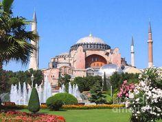 PAINTING OF HAGIA SOFIA 2 INSTANBUL TURKEY