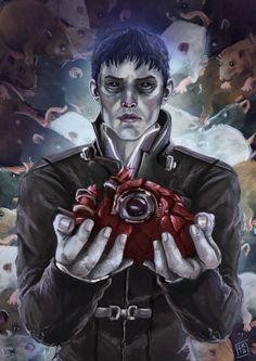 The Outsider by LornaKelleherArt on DeviantArt