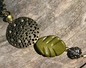 harvest. deep autumn colors and a bold harvest moon pendant necklace. nature. boho.