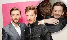 Benedict Cumberbatch supports Dan Stevens at The Guest screening #DailyMail