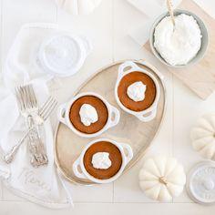 Crustless Pumpkin Pie - Fraiche Living