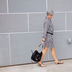 Iis there anything more comfortable to wear on a summer day than a dress? make that a gingham shirtdress, please. it's trendy and classic rolled into one. did i mention it's comfy? 'cuz it is.  .  .  .  .    #styleatacertainage #styleover50 #style #stylish #styleoftheday #styleinspiration #styleblog #stylegram #stylediaries #styleinspo #longpixie #gingham #shirtdress #summerstyle #fashioninspo #styleblogger #fblogger #fashionblog #fashiondiaries #whatiwore #wiw #fashiongram #fashion...