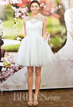 Brides.com: San Patrick Barcelona - Spring 2015. Wedding dress by San Patrick Barcelona