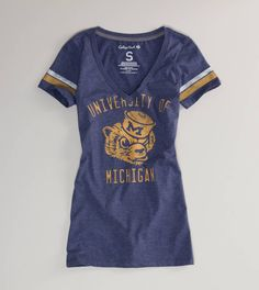 Michigan Vintage Football T