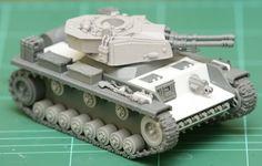 Panzer Style Tank Conversion