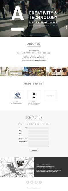 Web Design, Site Design, Innovation Lab, Team Page, Picture Layouts, Concept Board, Ui Inspiration, Contents, Editorial