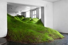 per kristian nygård grows grass landscape in olso gallery per kristian nygård grows grassy lawn within olso gallery all photos by jason olav benjamin havnera...