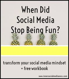 When did social media stop being fun?  If you need some motivation to get back…