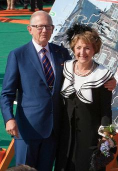 royalwatcher:  Koningsdag 2014, April 26, 2014-Pieter van Vollenhoven and Princess Margriet