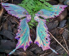 Combine my obsession with colour with my obsession with fairies and this is what you get