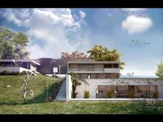 Render Exterior Ds Max Con Photoshop Parte  Youtube