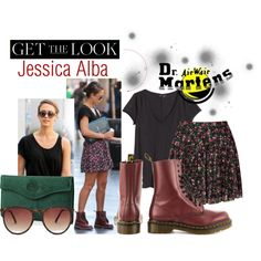 Featuring 1490 - Cherry Red Smooth Dr Martens