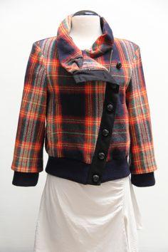 L.A.M.B. jacket #L.A.M.B. #plaidjacket #Consignment