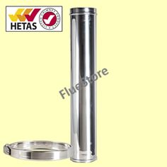 Chimney (All Fuels) 6 inch - Pipe 1000mm diam 150