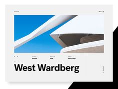 Architecture Showcase Concept by Mario Šimić #Design Popular #Dribbble #shots