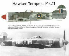 Air Force Aircraft, Ww2 Aircraft, Fighter Aircraft, Military Aircraft, Hawker Tempest, Hawker Typhoon, Hawker Hurricane, The Spitfires, War Thunder