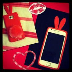 Repost van @manuelavdgraaf Zij heeft het schattig #bunny hoesje voor de Samsung Galaxy S2 gekocht. Check www.phonegeek.nl en zoek met de zoekfunctie op BUNNY of het ook voor jouw toestel geschikt is. #love #PhoneGeek 5.49 pm 2/25/2014