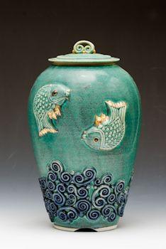 Kimi Masui / Serpentiene Carp Jar