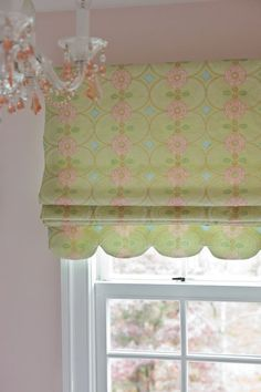Roman Blinds in a Girl's Bathroom. Design by Annette Hannon Interior Design; Photography by Angie Seckinger Big Girl Rooms, Kids Rooms, Drapery, Valance Curtains, Teen Bathrooms, Window Dressings, Roman Blinds, Girls Bedroom, Window Treatments