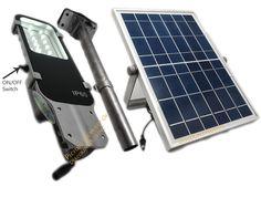 Multifunctional Solar Street Light 12 SMD LED Solar Lights Walkway Parking New #GardenSolarLights
