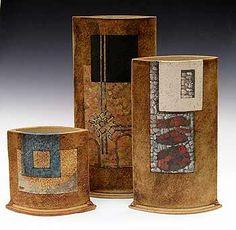 Ceramics by Nigel Edmondson at Studiopottery.co.uk - Mandorla Group, by Nigel