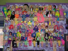 doll collection display - Google Search