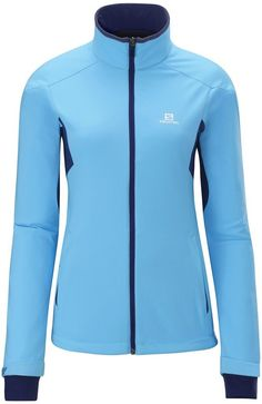 Salomon Women's Active Softshell Jacket - perfect for cross country skiing!