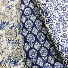 I picked up these fabrics for my next bag and wallet. What do you think? Which one is your fave? Printed Denim, Printed Skirts, Plate Mat, Indian Block Print, Indian Fabric, Denim Bag, Sewing Projects For Beginners, Window Coverings, Handmade Bags