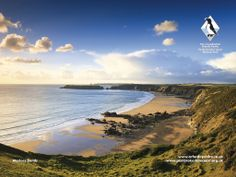 Marloes Sands is one of the locations featured in the Pembrokeshire Coast National Park's 60 Iconic Views gallery - Wales Wales Coastal Path, Welsh Coast, Snowwhite And The Huntsman, Gower Peninsula, Pembrokeshire Wales, Visit Wales, 100 Things To Do, Hidden Beach, All Nature